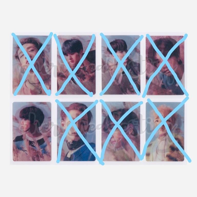 [LFS/WTB] Stray Kids Han/ Jisung's Lenticular Photocard