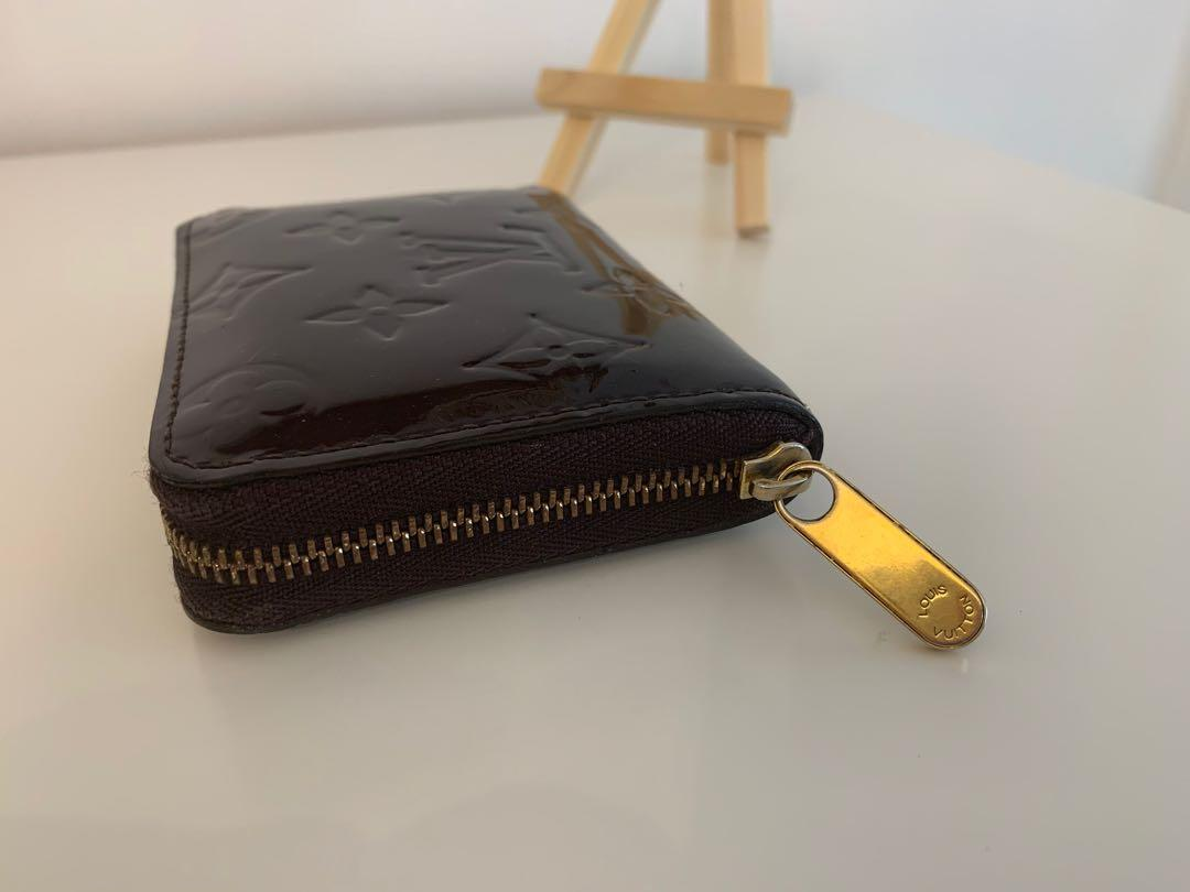 Louis Vuitton Monogram Vernis Zippy Coin Purse - Amarante