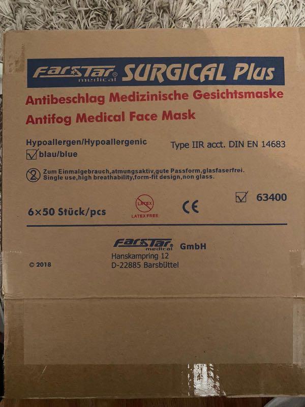 farstar surgical maske