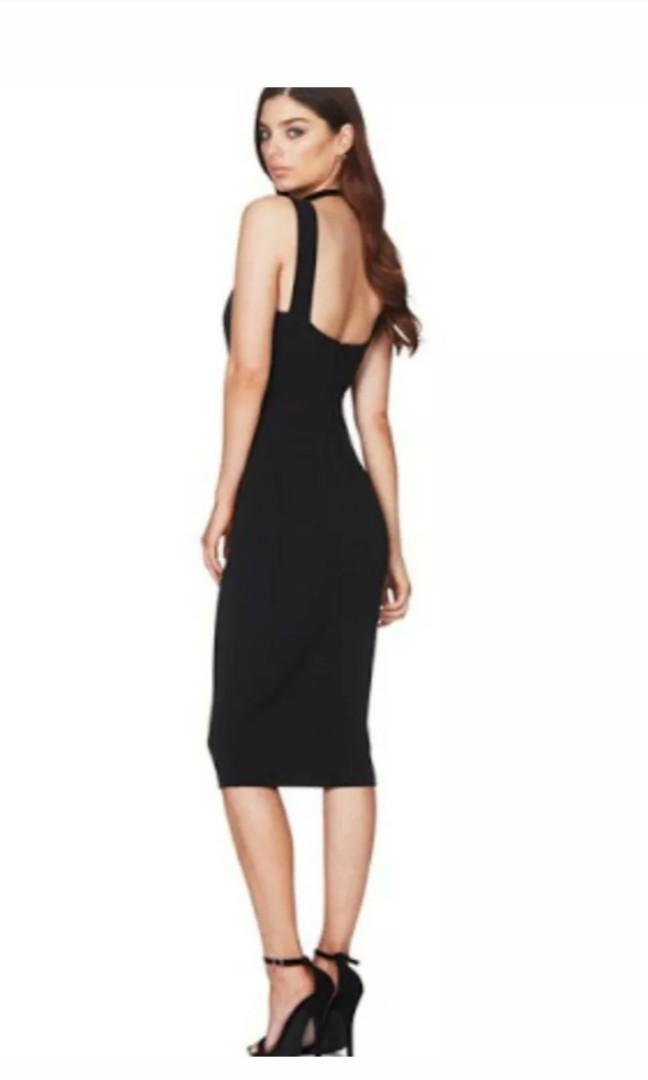 Nookie Dress - Demi Midi Dress - Size Large (12) - New With Tags