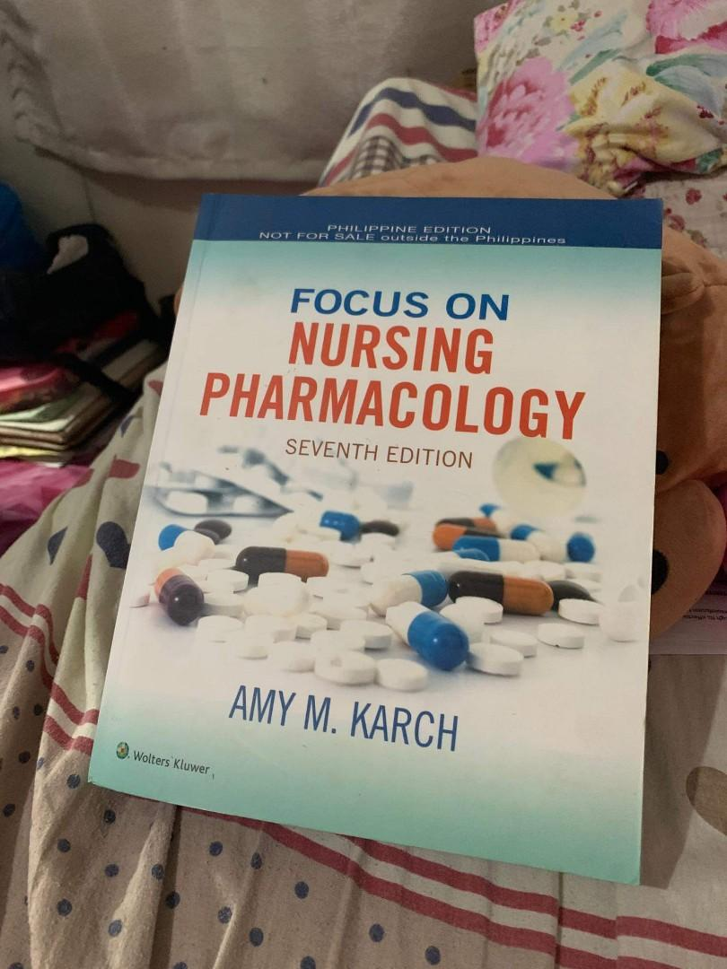 Nursing Books for Sale‼️ Good as new conditio. ✓KARCH - Pharmacology