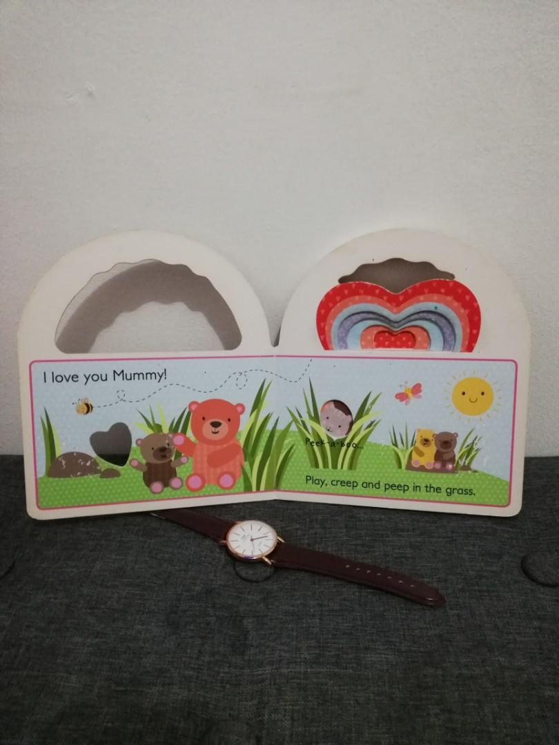Peek-a- Boo I Love You & Baby Forest Animals Board Book Bundle