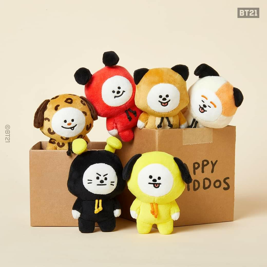(PO) Official BTS BT21 Universe Doll Series (Chimmy Edition)