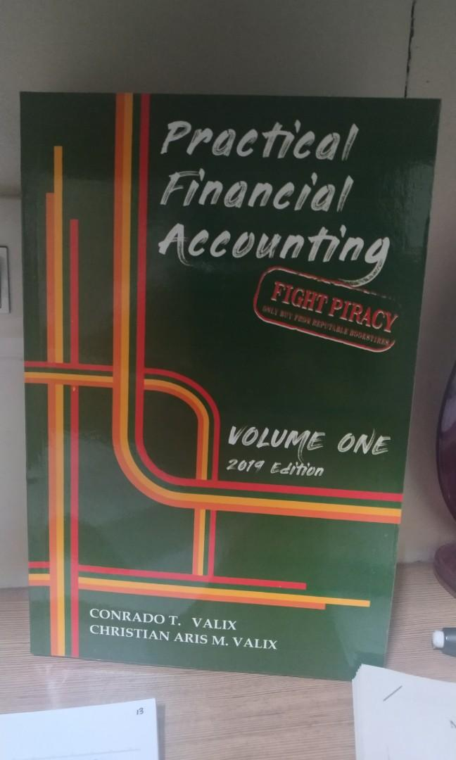 [ORIGINAL] Practical Financial Accounting Volume 1 & 2 ( 2019 Edition, VALIX)