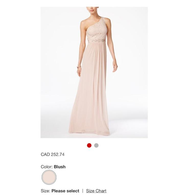 Price tag still attached - Bridesmaid or Prom Dress - Adrianna Papell