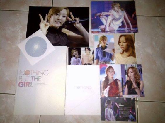 Snsd girls generation taeyeon fansite photobook flying petal nothing but the girl kpop korea