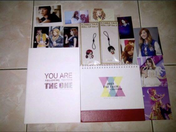 Snsd girls generation taeyeon kty you are the one photobook fansite kpop korea