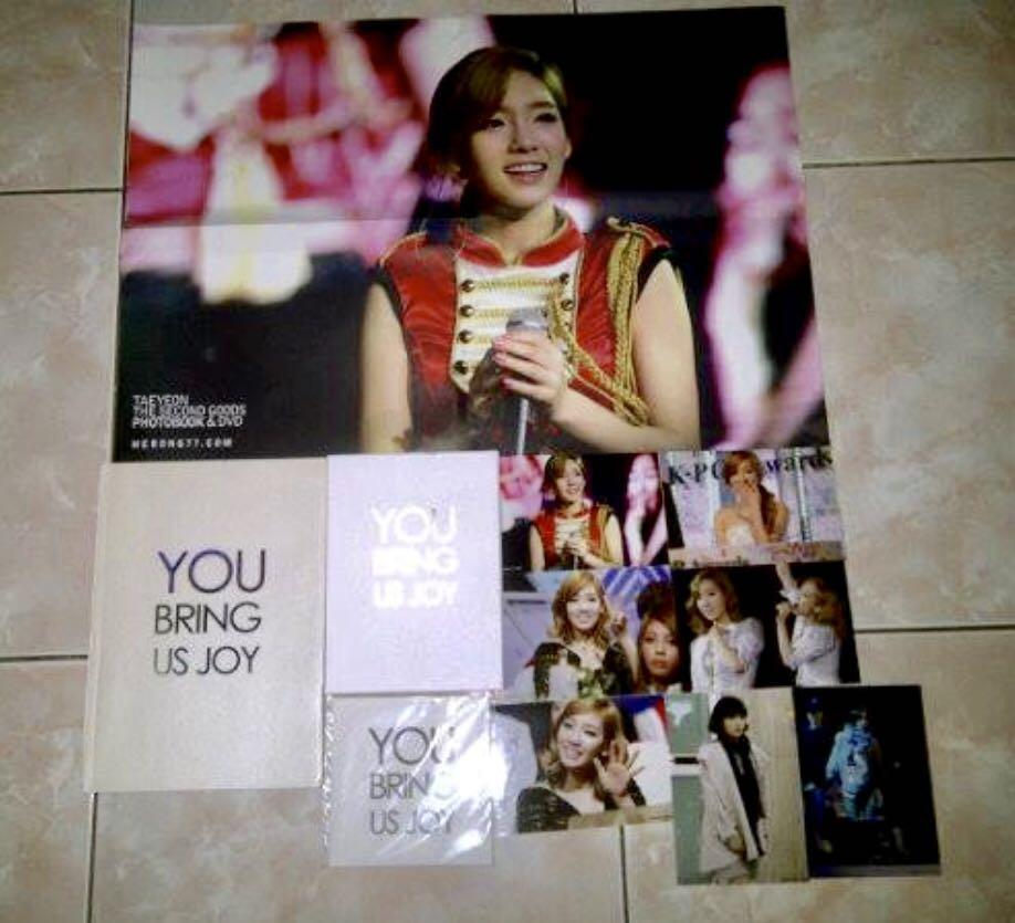 Snsd girls generation taeyeon you bring us joy photobook fansite kpop korea