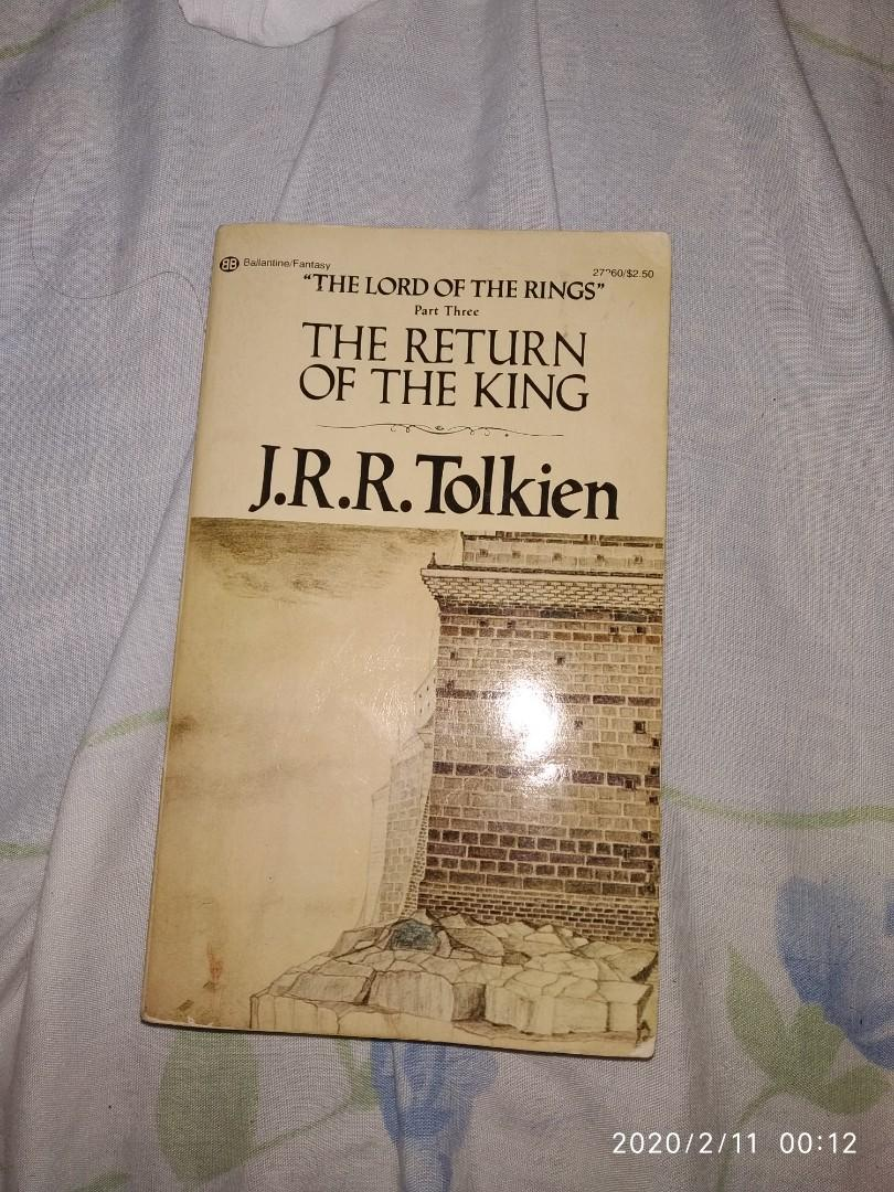 The Return of the King (The Lord of the Rings Part Three) by J.R.R. Tolkien