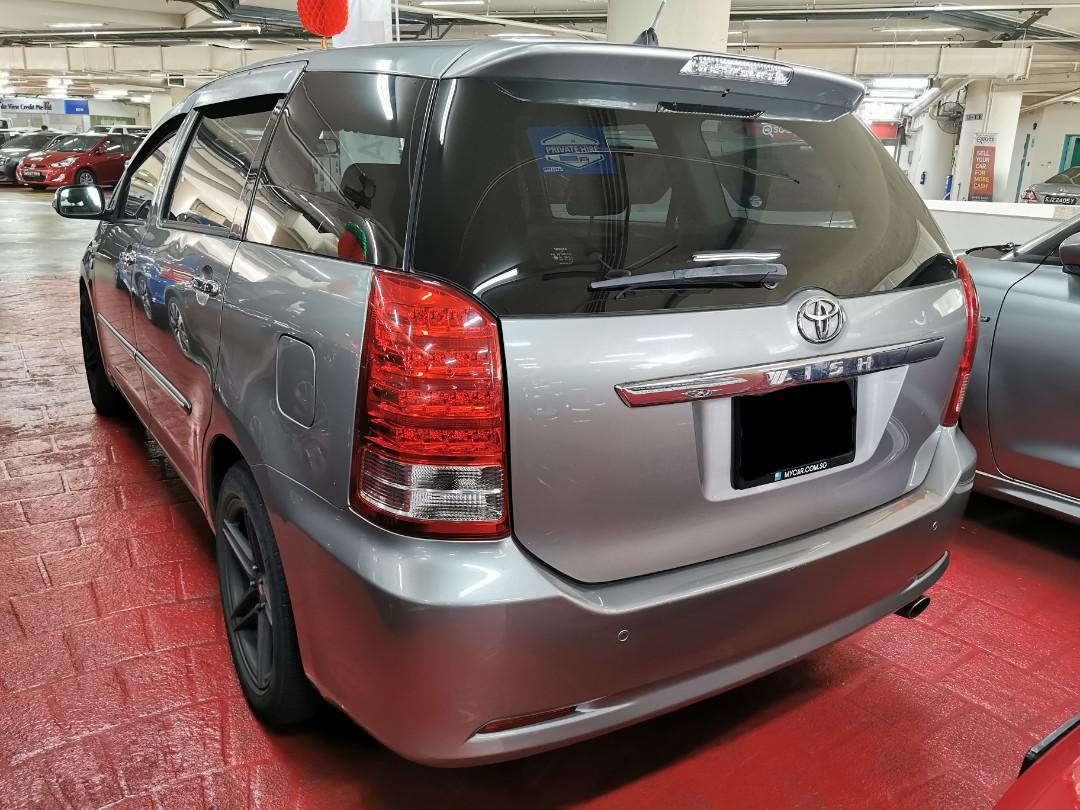 "Toyota Wish 1.8A for Rental (Click on ""read more"" for more details)"