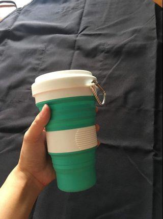 Collapsible Coffee Cup 550ML FREE SHIPPING IN MANILA