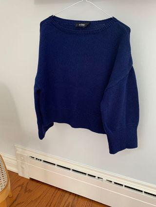 Simons Cropped Knit Sweater