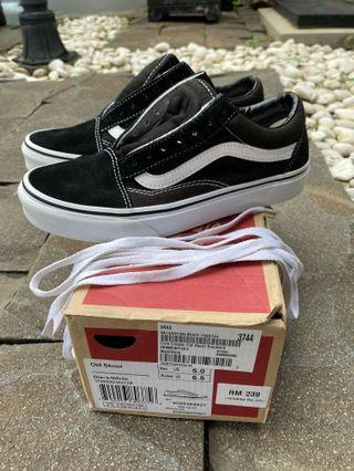 Vans Black/White Core Classic Old Skool