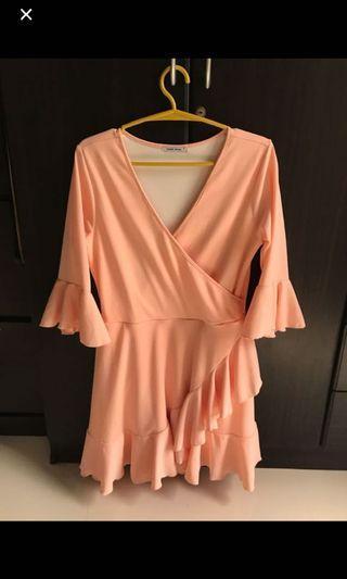 Pink Black Sheep Dress