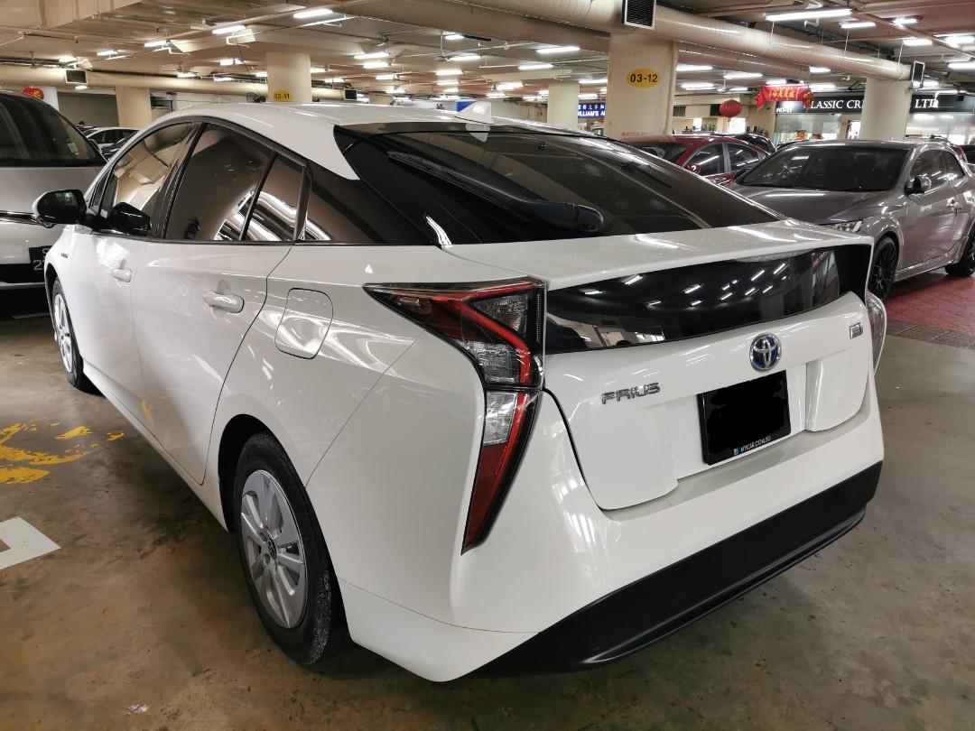 """2019 Toyota Prius Hybrid 1.8A for Rental (Click on """"read more"""" for more details)"""