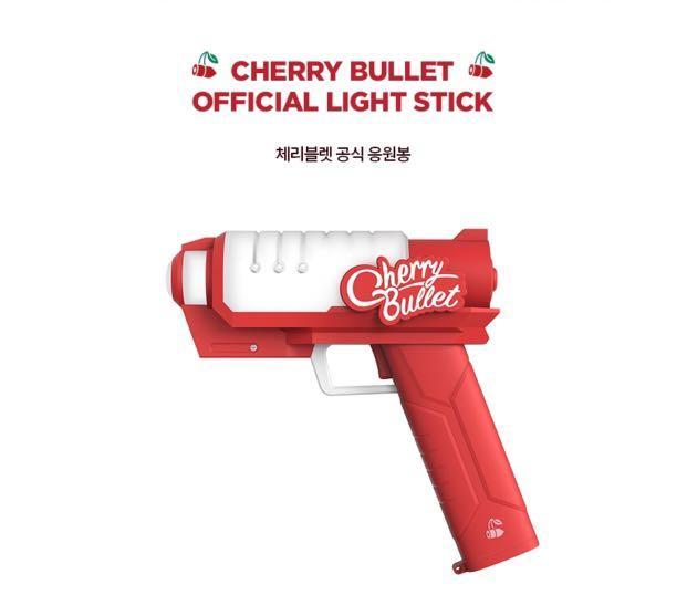 [🇲🇾 GROUP ORDER] CHERRY BULLET OFFICIAL LIGHTSTICK