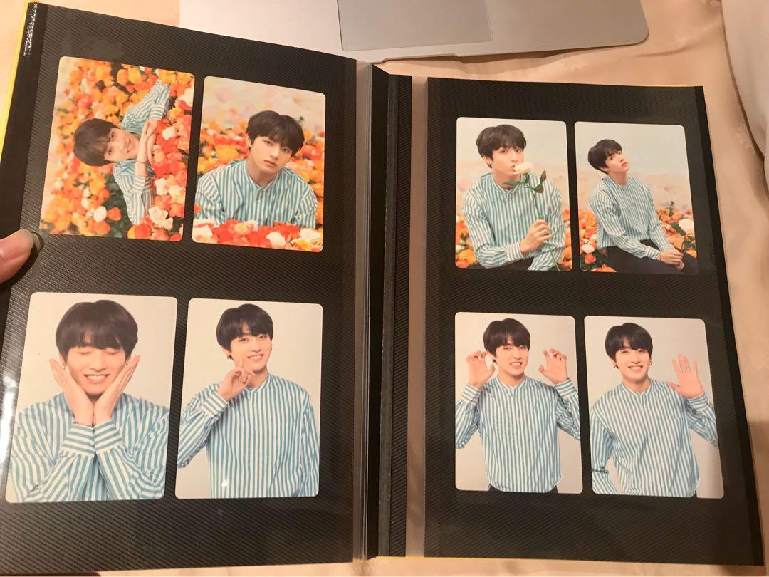 Bts jungkook official love yourself japan tour mini photocard set Kpop