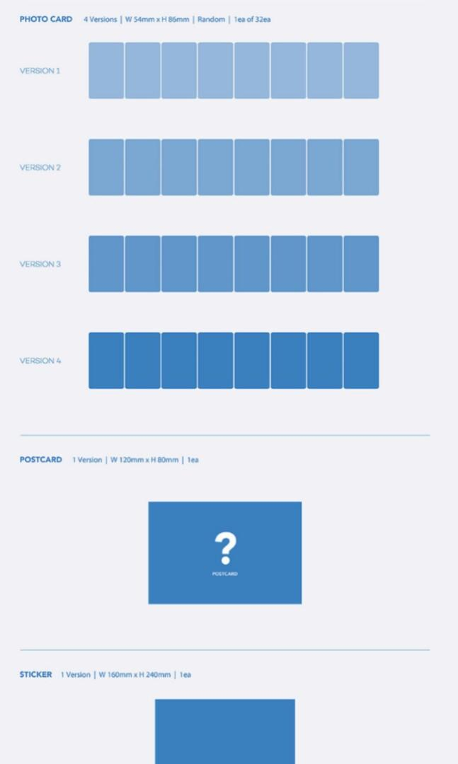 [WEPLY/ REGULAR] BTS MAPS OF THE SOUL:7 MOTS 7 PREORDER (NORMAL)