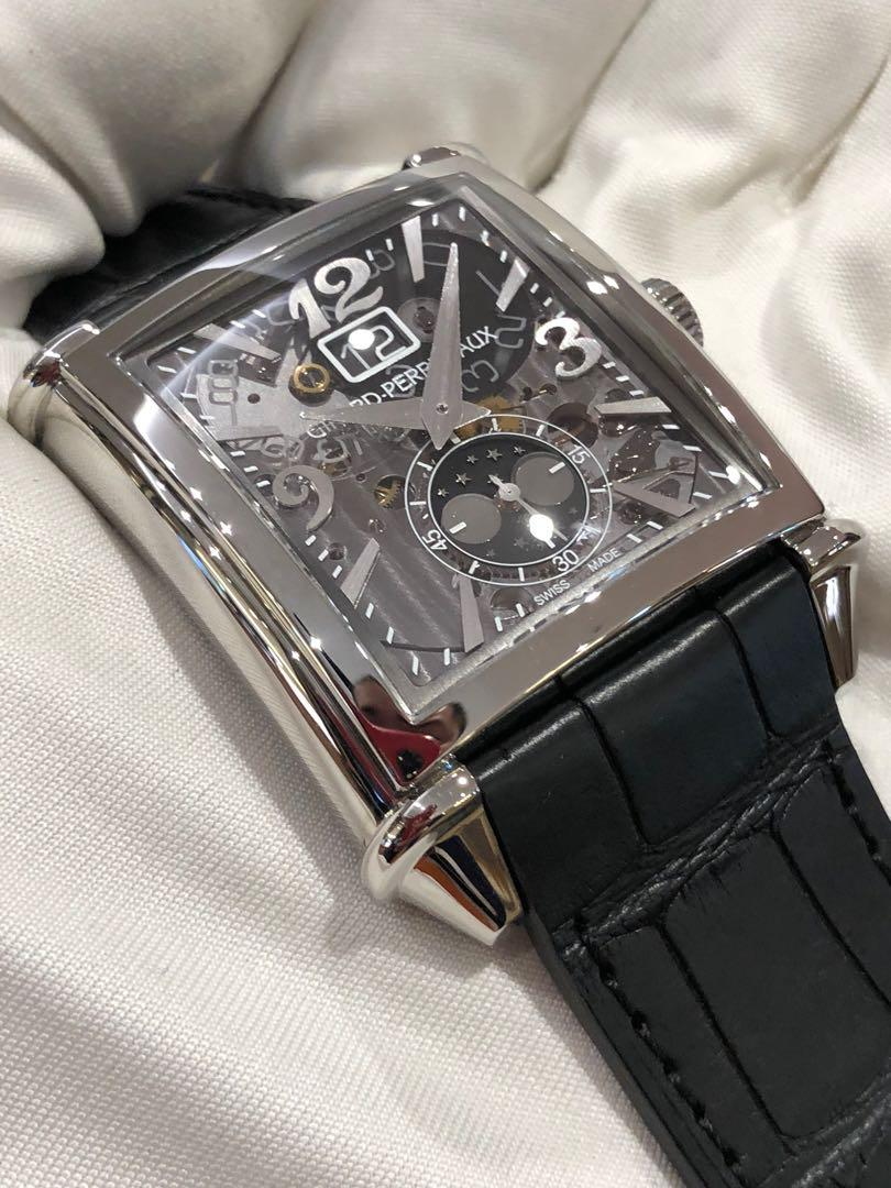 Girard-Perregaux Vintage 1945 XXL Large Date and Moon Phases Watch Reference #: 25882-11-223-BB6B XXL Large Date and Moon Phases 2588211223bb6b