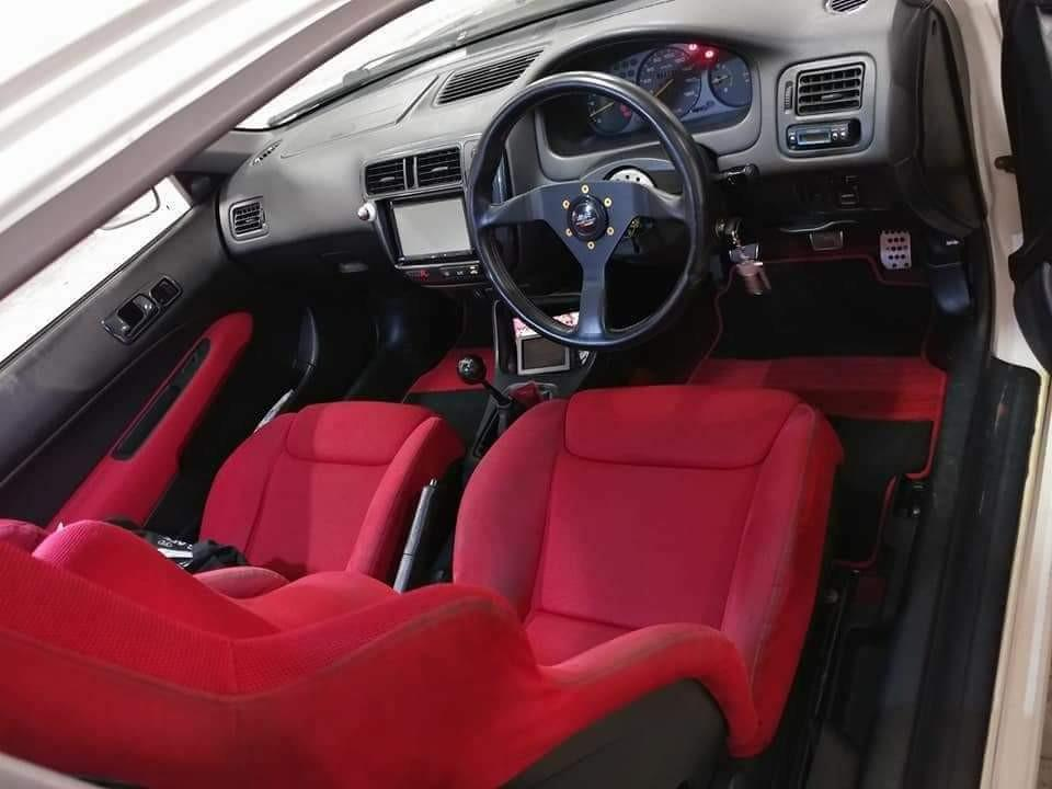 Honda Civic Type R…EK9白色少改98出OO落地 Manual