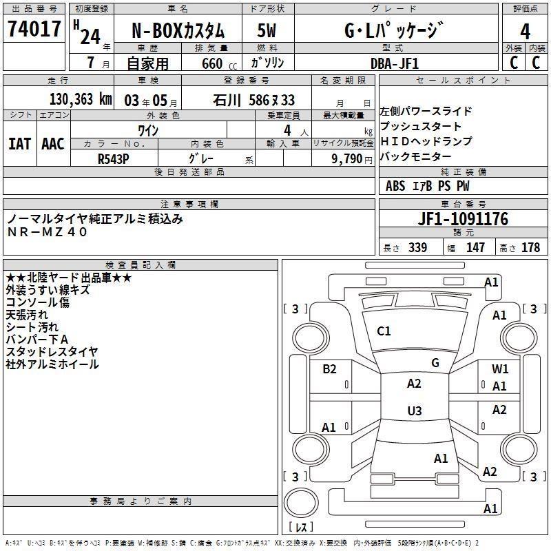 Honda N BOX GL Auto