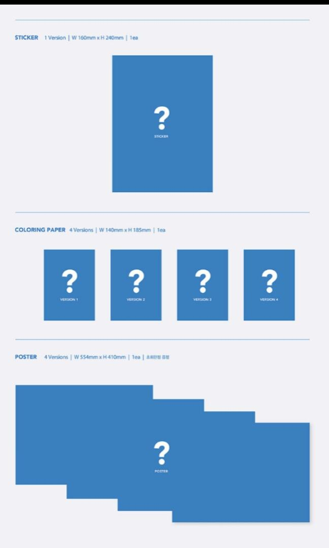 INCOMING STOCK BTS MAPS OF THE SOUL:7 MOTS PRE ORDER