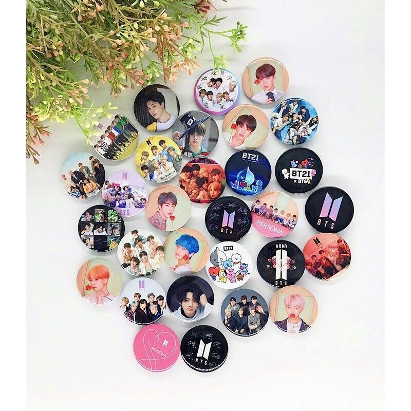 K-POP Button Badge / Button pins EXO BTS BLACKPINK GOT7