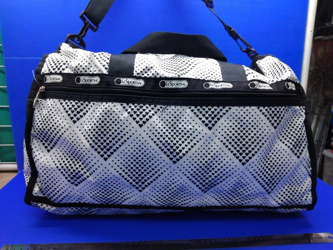 LeSportsac NEW Floral Print Large Weekender Overnight Duffle Travel Bag