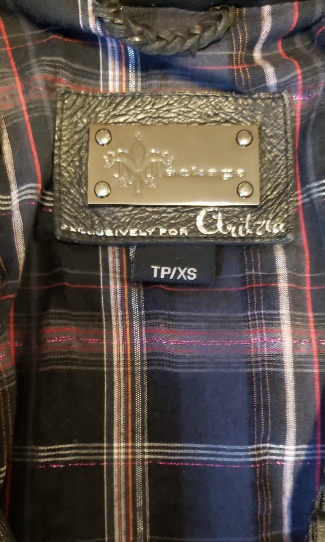 Mackage Lambskin leather Jacket Exclusive to Aritzia