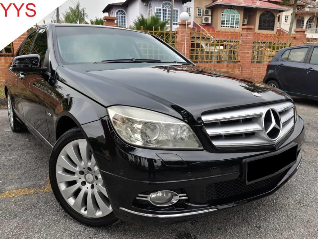 MERCEDES BENZ C200 1.8 (A) CGI ELEGANCE KEPT WELL ACC FREE GOOD CONDITION.