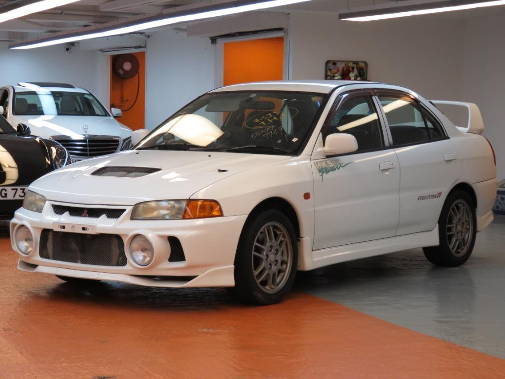 Mitsubishi Lancer Evolution IV GSR (M)