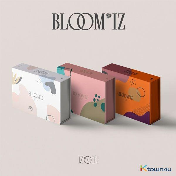 [MY GO] [PRE-ORDER] IZ*ONE - Album Vol.1 [BLOOM*IZ] (I WAS Ver. + I AM Ver. + I WILL Ver.)