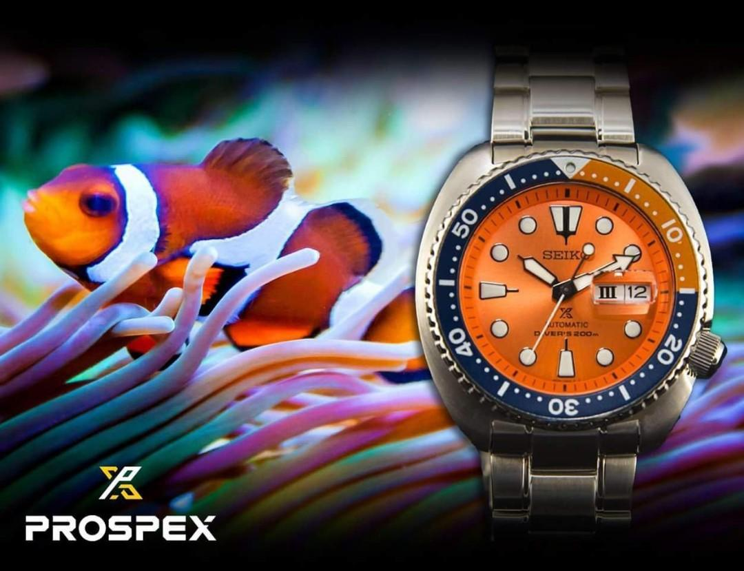 New Seiko Prospex Turtle Nemo SRPC95K1 Automatic Divers 200M WR Stainless Steel Strap ASIAN LIMITED EDITION