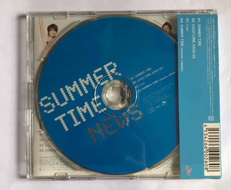 NEWS《SUMMER TIME》初回限定盤