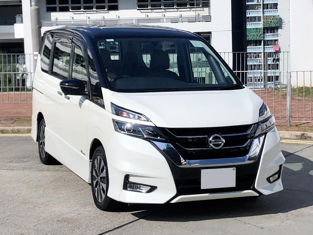 Nissan    SERENA Highway Star SHYBRID   2018 Auto