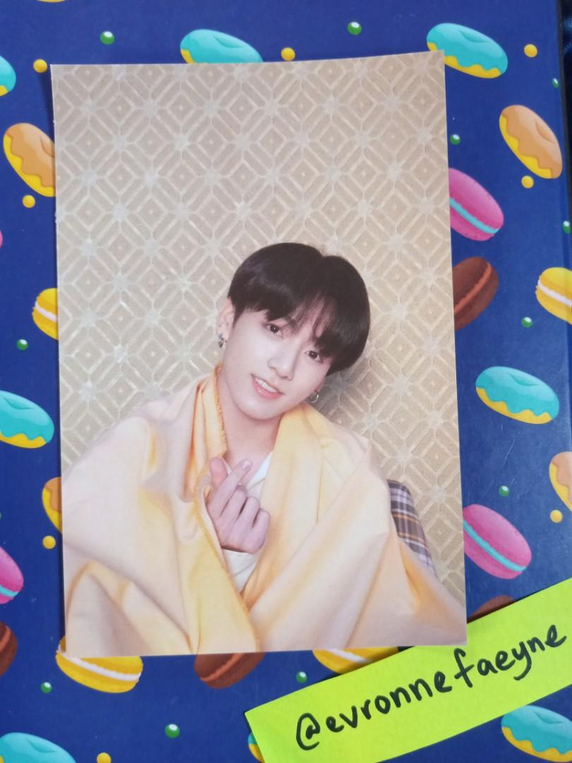 BTS Map of The Soul: Persona Ver  1 Jungkook official postcard