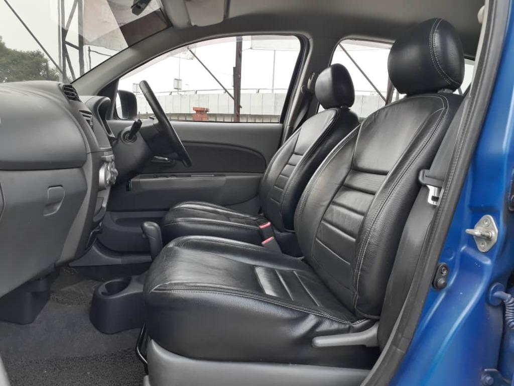 PERODUA MYVI 1.3 (A) LIMITED EDITION ORI LEATHER SEAT NICE BLUE.