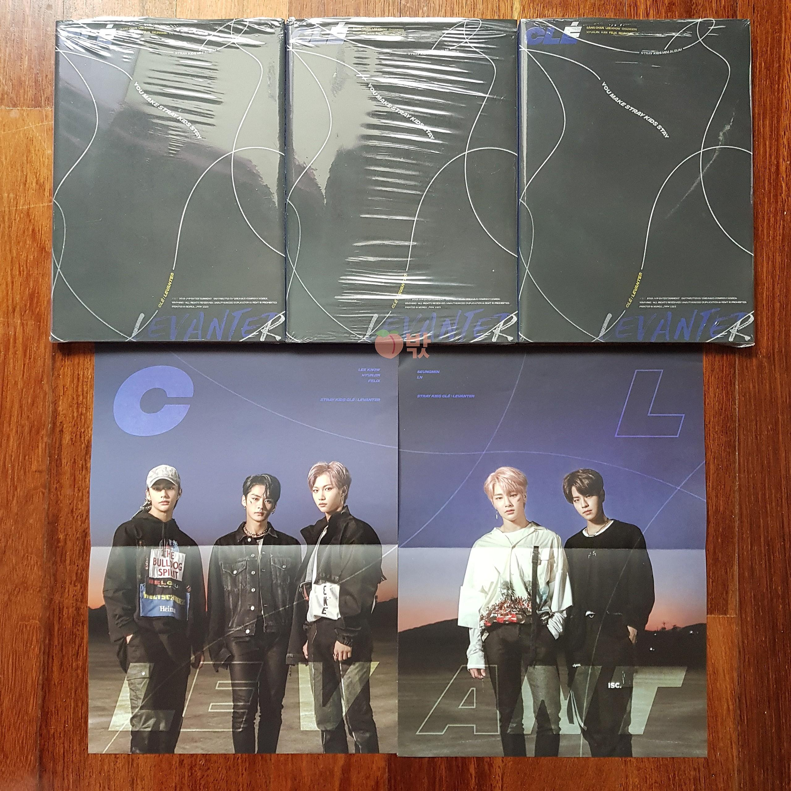 [Ready Stock] Stray Kids Levanter (Limited Ver / Album Only)