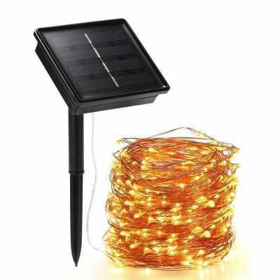 Solar String Lights 72ft 200 Led Rope
