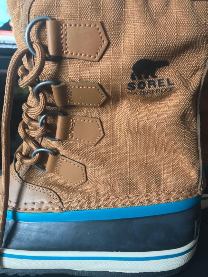 Sorel Kedaecien in brown women's winter boot, size 6