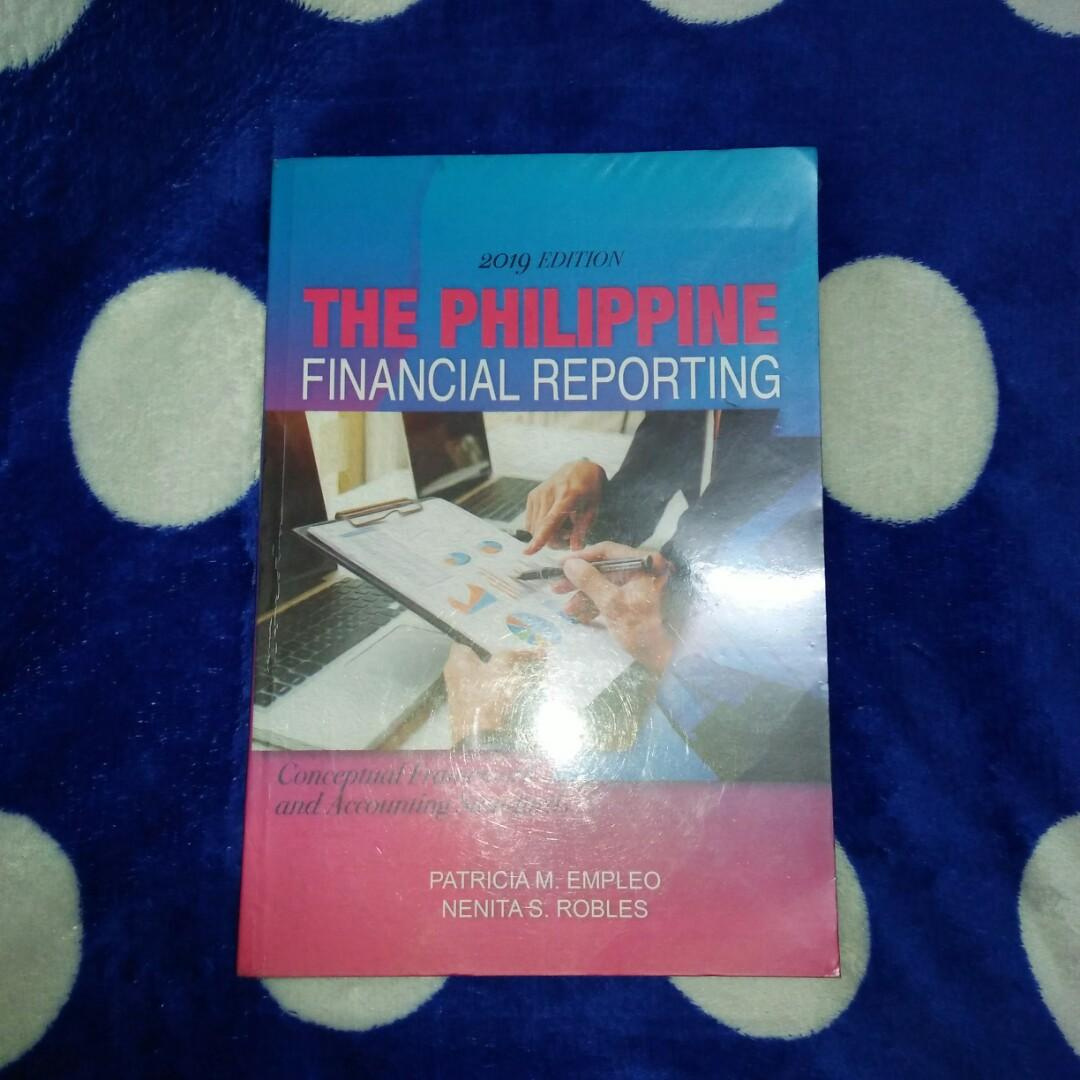 The Philippine Financial Repoting ( Conceptual Framework and Accounting Standards)