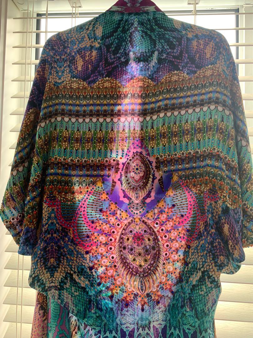 Tides of aurora, Camilla franks cape/long line jacket