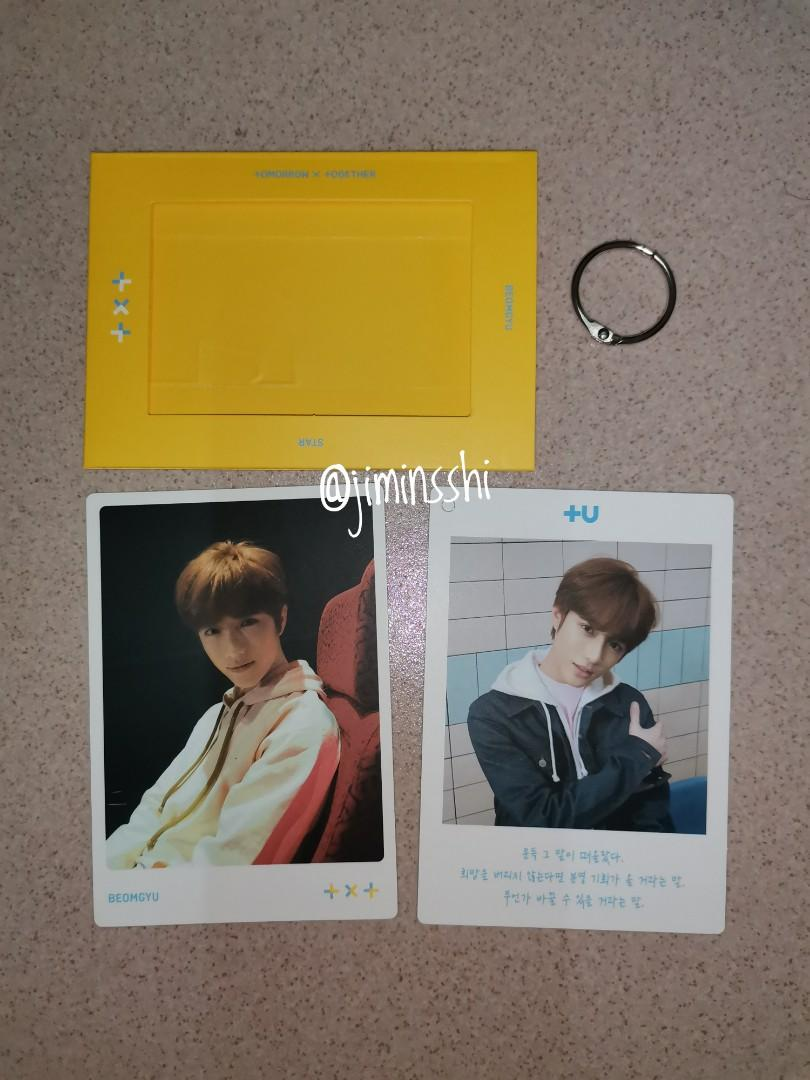 TXT DREAM CHAPTER : STAR BEOMGYU  FULLSET PHOTOCARDS