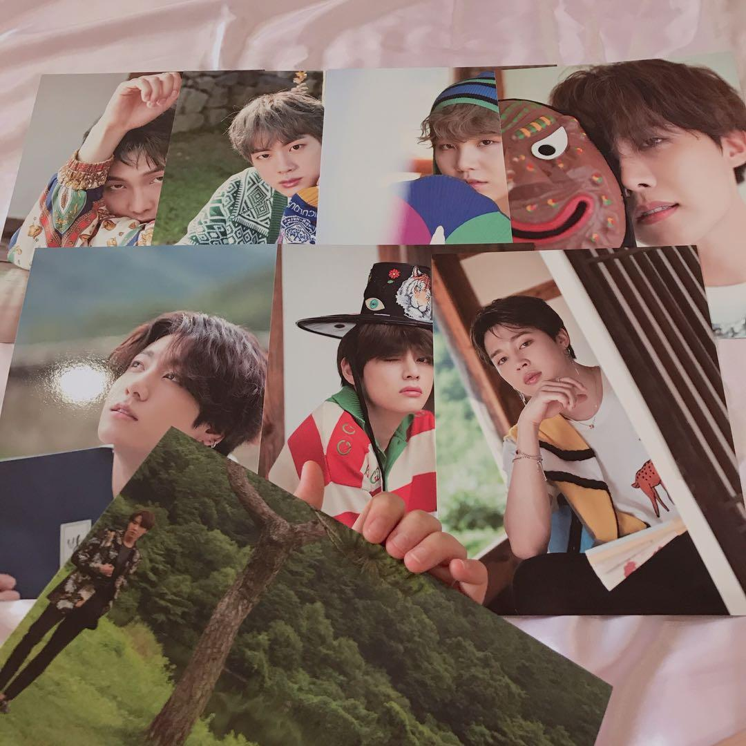 [WTS] BTS 2019 SUMMER PACKAGE MINI POSTER +FOLDING POSTER