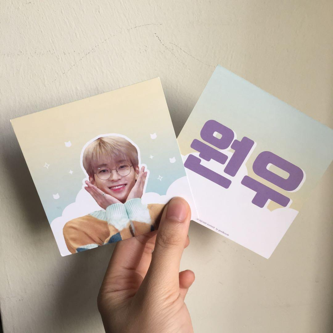 [WTS] READY STOCK WONWOO STICKER PACK LIMITED AMOUNT ONLY