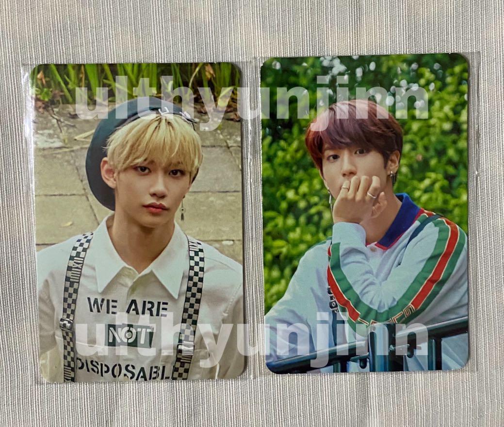 WTS Stray Kids Felix Han Jisung Photobook Photocard