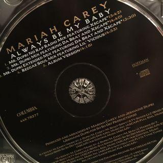 "Mariah carey ""always be my best  maxi single CD"