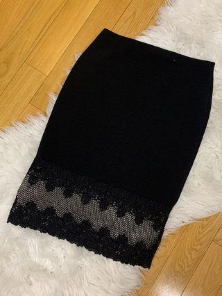 Lace bottom skirt