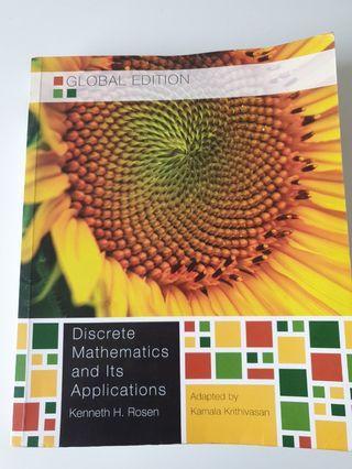 8成新 離散數學 Discrete Mathematics and its Applications Global edition seventh edition