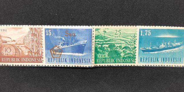 Perangko Kuno Indonesia Tahun 1965